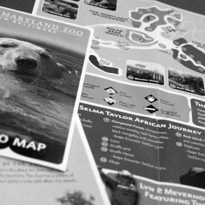 MD ZOO Park Map